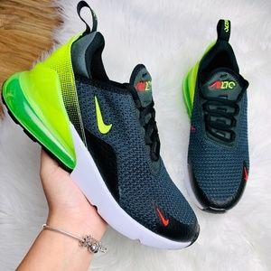 Nike Air Max 270 Black Neon Green